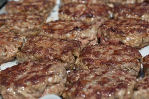 Hamburger alla Brace